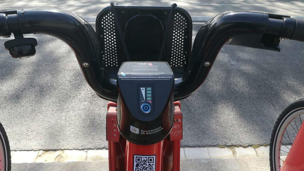 bateria bicing elèctric