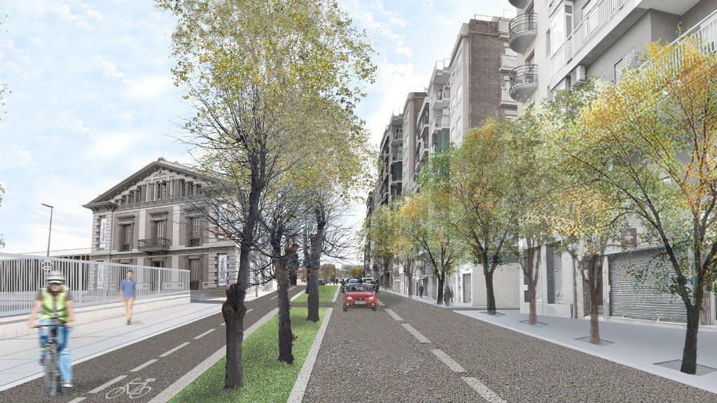 Imatge virtual carrer Berenguer de Palou