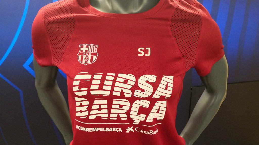 Cursa Barça 2019 samarreta dona