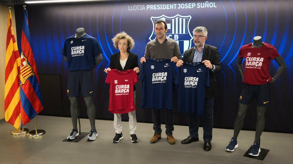 Cursa Barça 2019 presentació