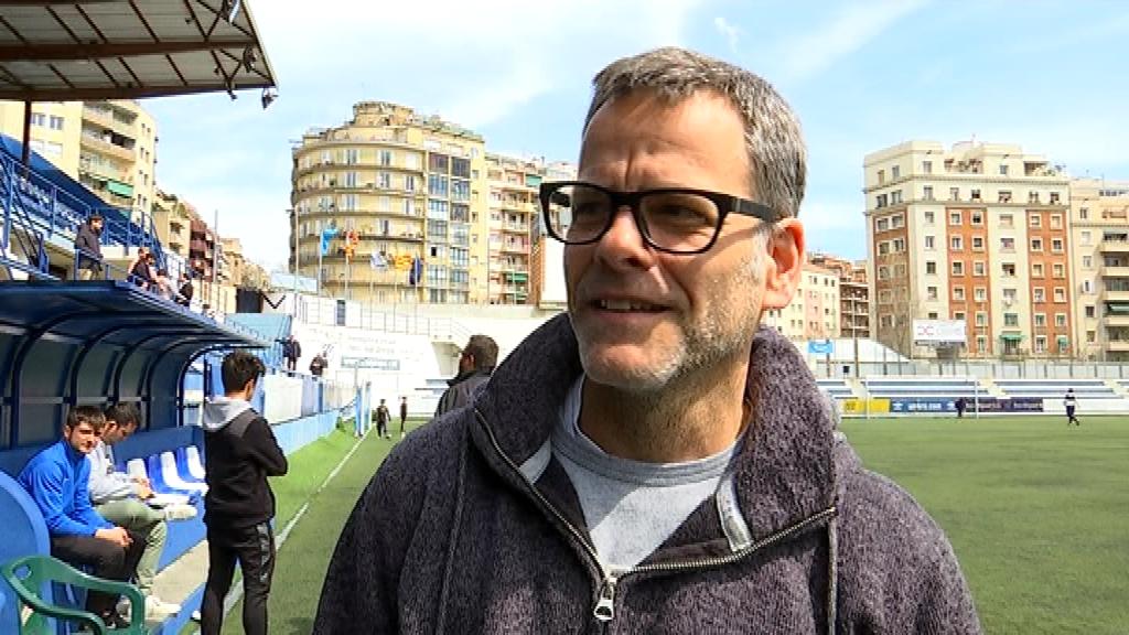 David Vilajoana, entrenador CE Europa