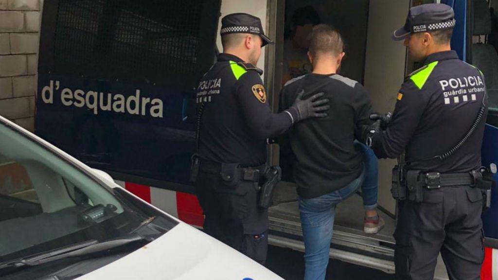 Detinguts Mossos d'Esquadra