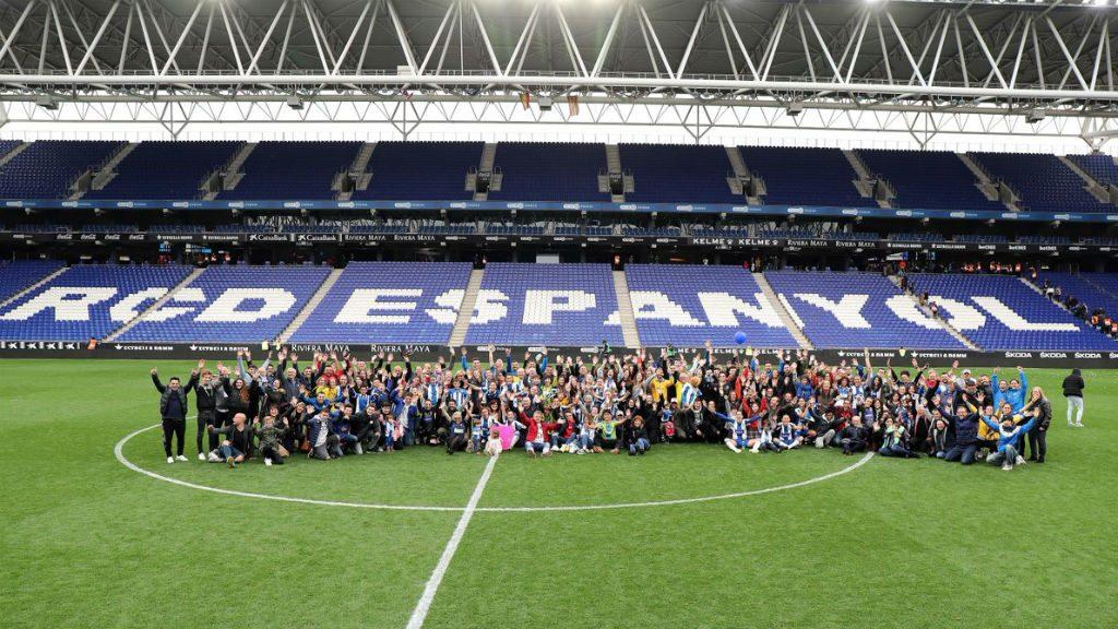 Espanyol Atlètic de Madrid femení ambient