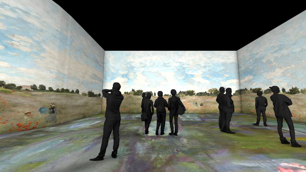 Exposició de Monet a l'IDEAL