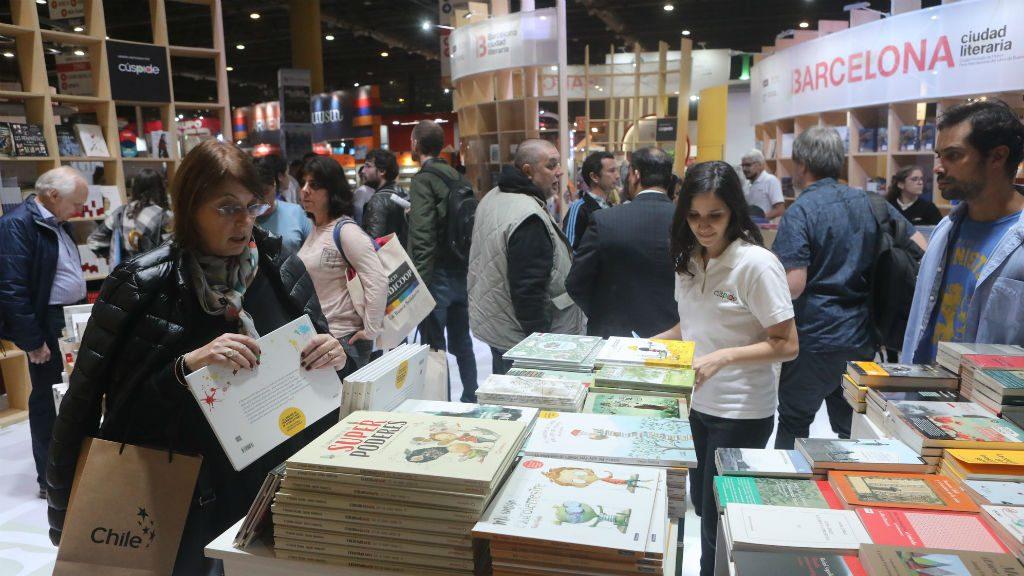 Estand Barcelona Fira Llibre Buenos Aires