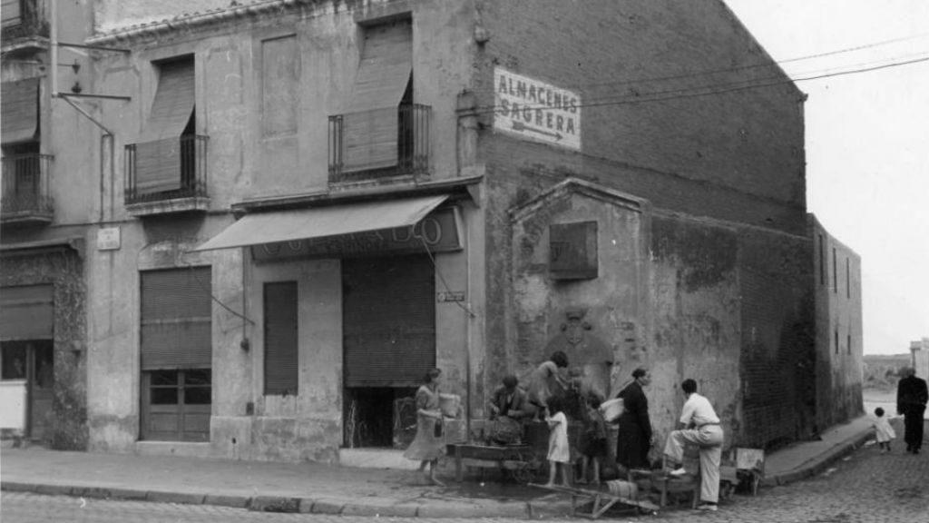Fotografia antiga Font del Gaig