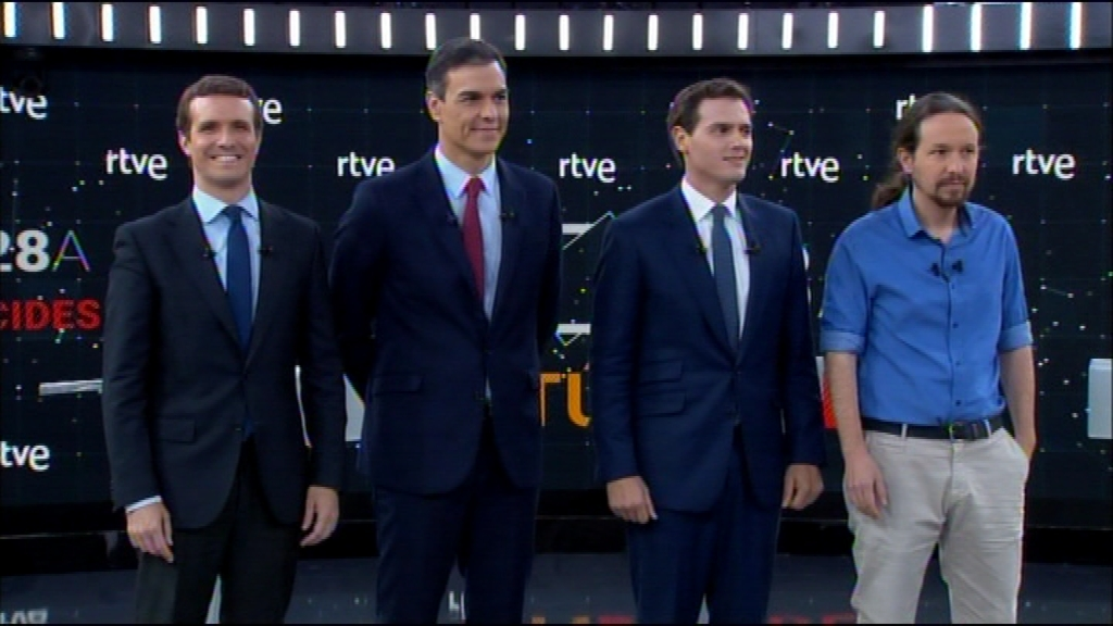 Debat eleccions generals TVE