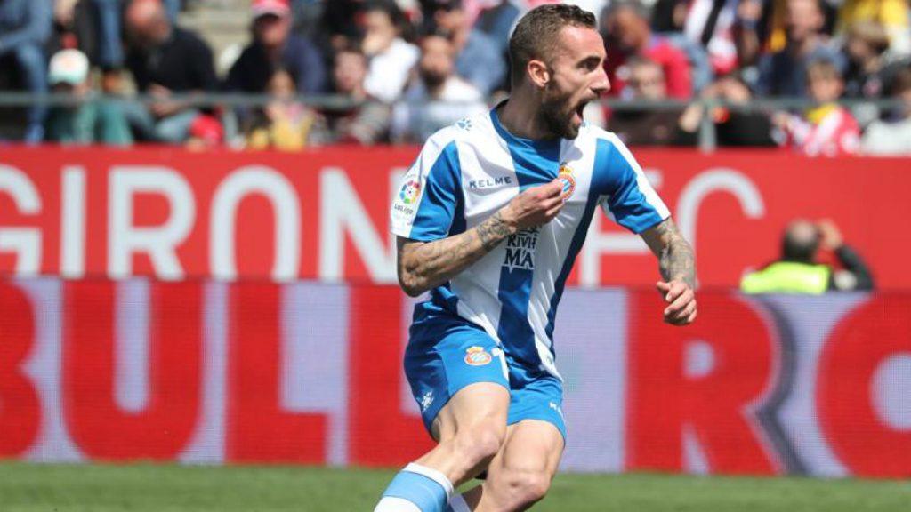 Sergi Darder, golejador del Girona - Espanyol