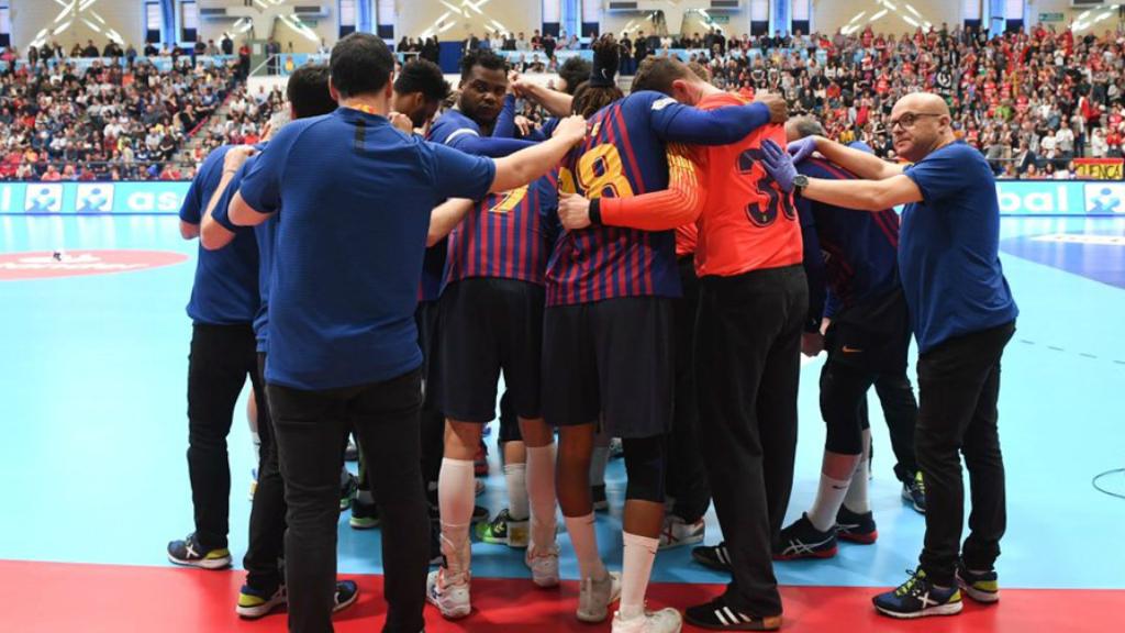 El FC Barcelona, campió Copa del Rei handbol