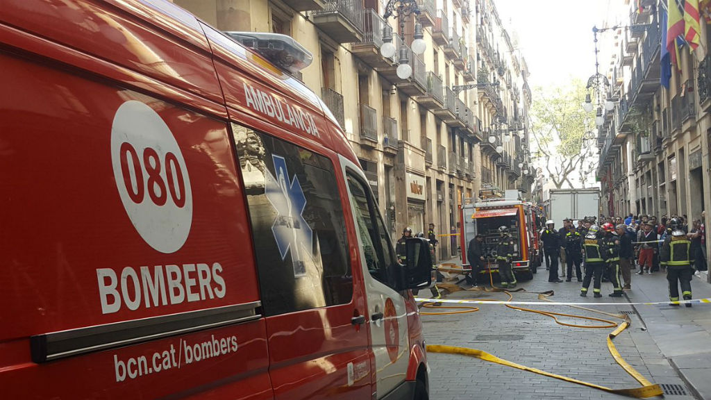 Incendi carrer Ferran
