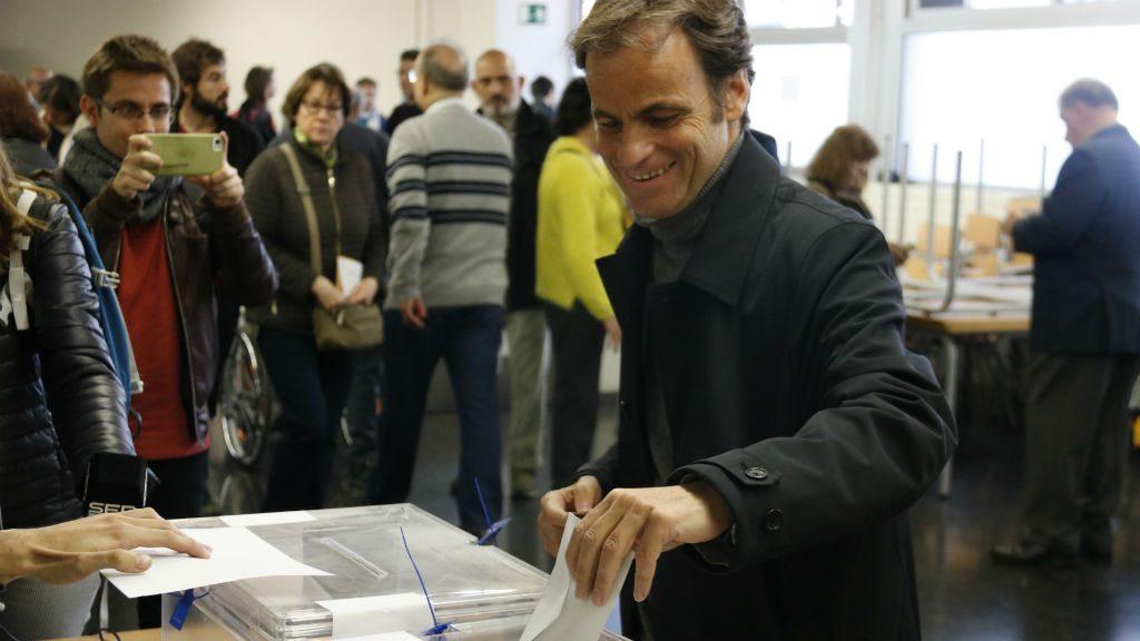 Jaume Asens vota el 28A
