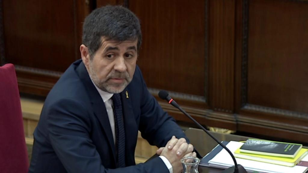 Jordi Sànchez al Tribunal Suprem