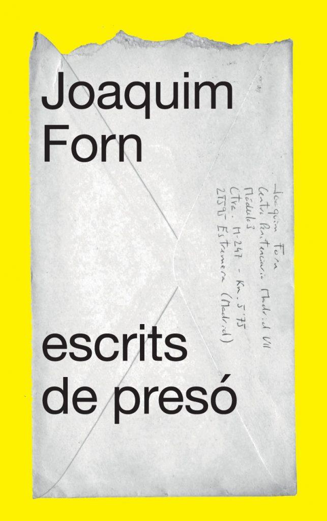 Joaquim Forn,'Escrits de presó'