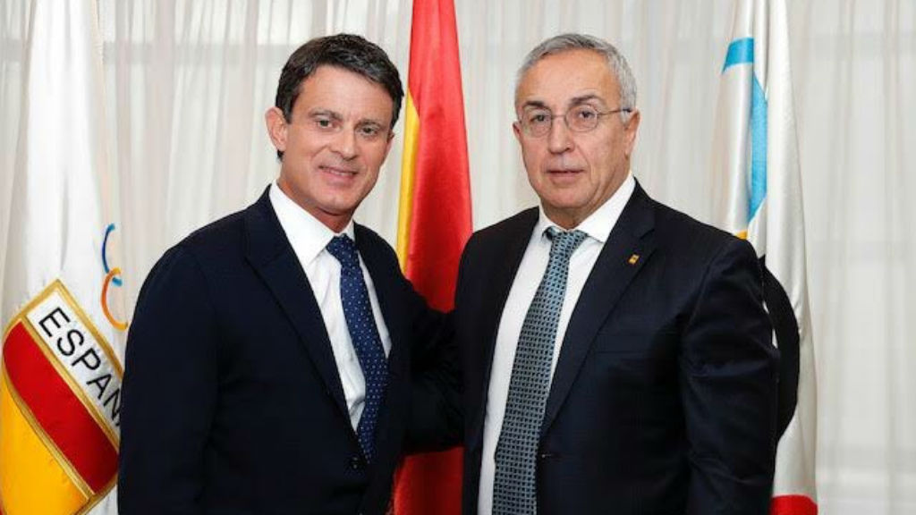Manuel Valls Alejandro Blanco COE