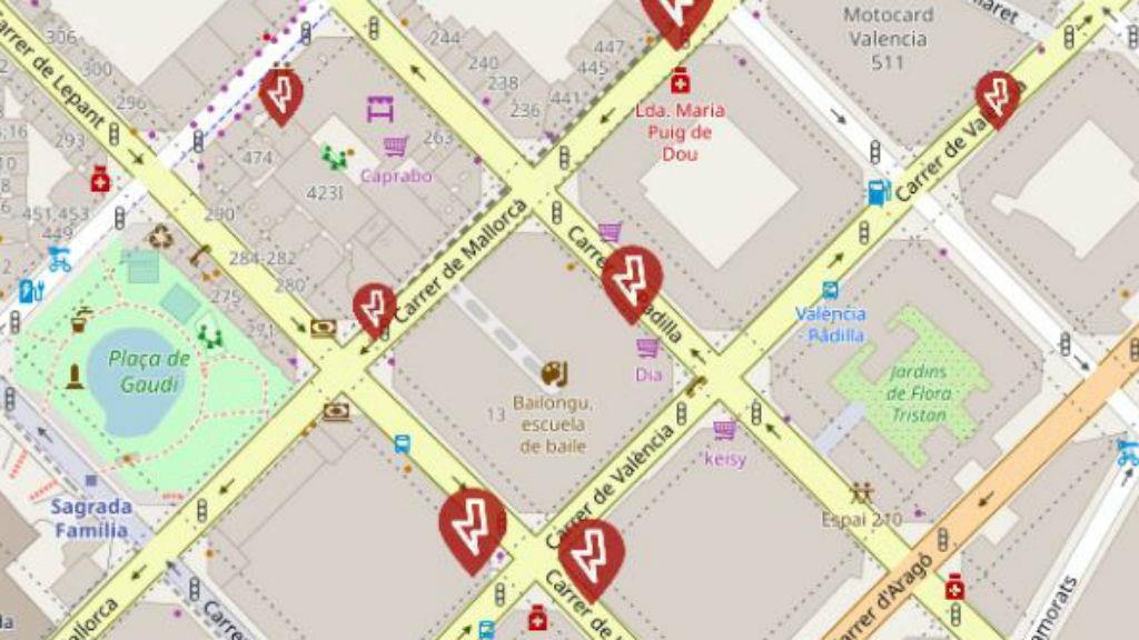 Mapa averies Endesa
