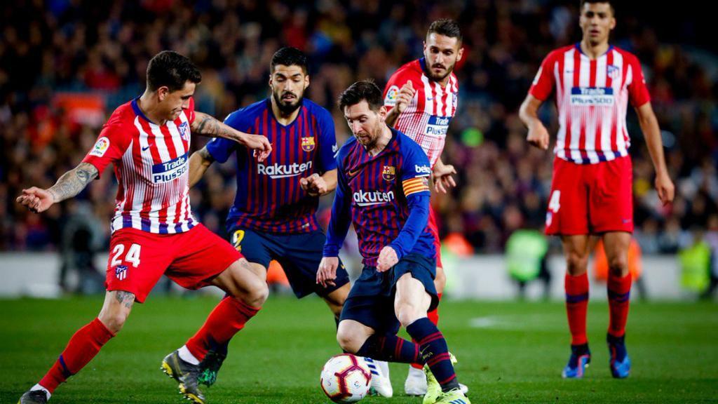 Leo Messi durant el Barça - Atlètic de Madrid