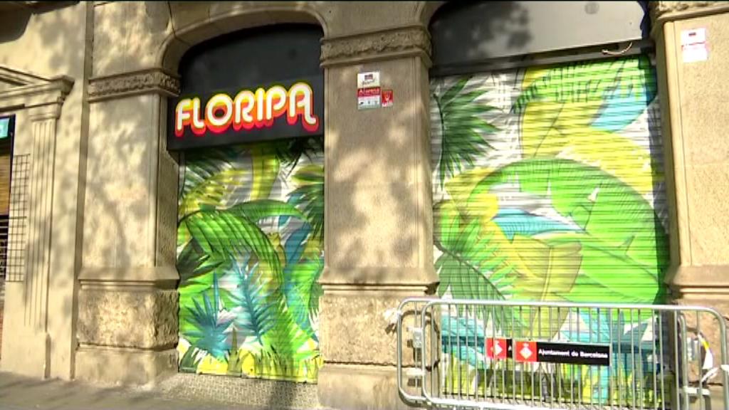 Vista exterior del bar Floripa