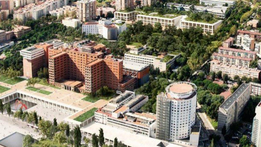 Nou edifici de l'Hospital Vall d'Hebron