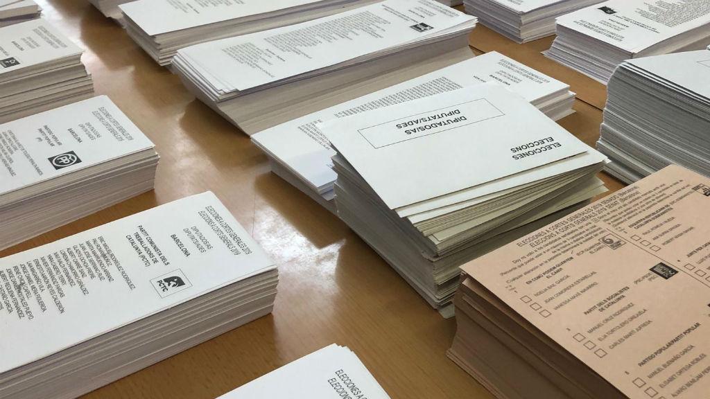 Paperetes votació