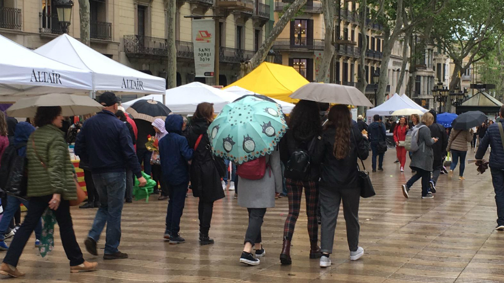 pluja Sant Jordi