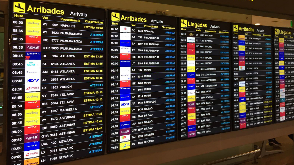 retards aeroport