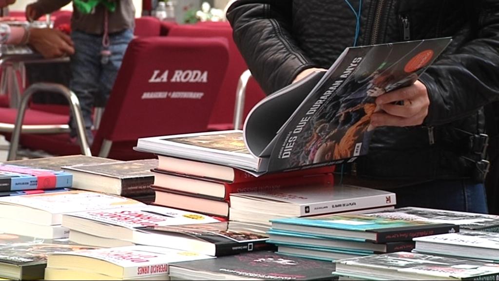 parades llibres Sant Jordi