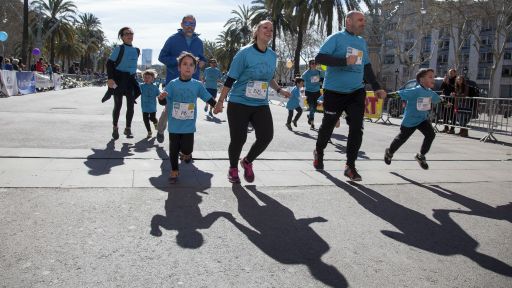 The Family Run 2019 arribada