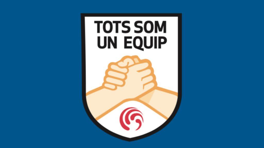 Tots som un equip logo FCF