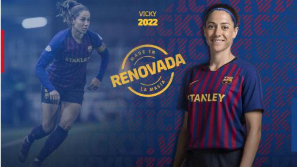 Vicky losada renova amb el Barça