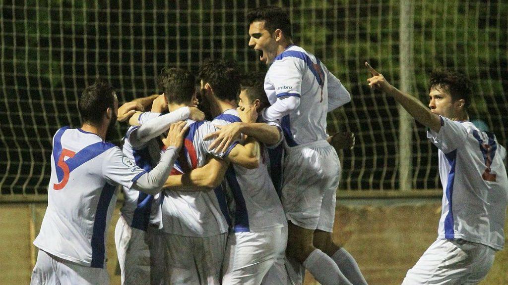 Vilafranca Europa Tercera Divisió 2019 gol Guillem Castell