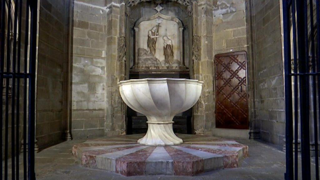 Baptisteri paleocristià de la catedral de Barcelona