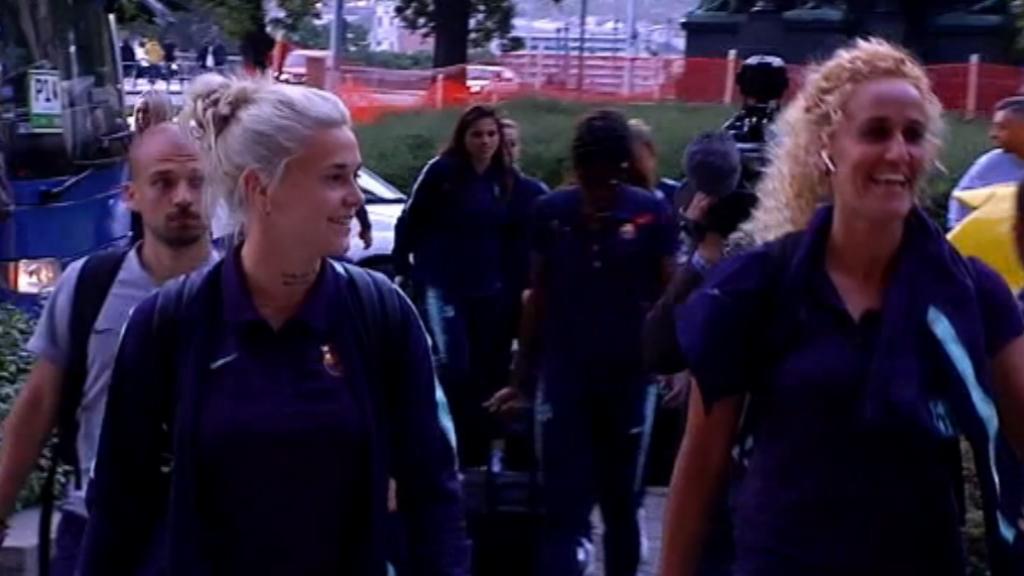 El Barça femení ja és a Budapest