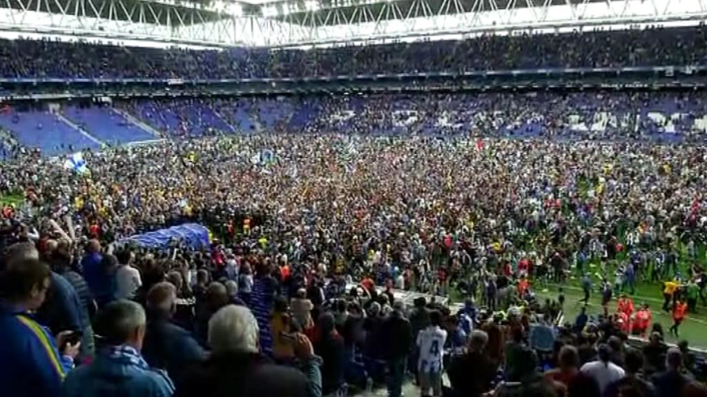 Aficionats i periodistes valoren la classificació de l'Espanyol per Europa