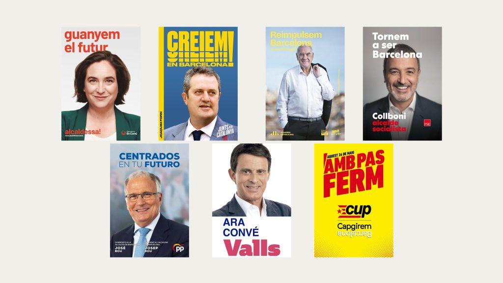 cartells campanya eleccions municipals 2019