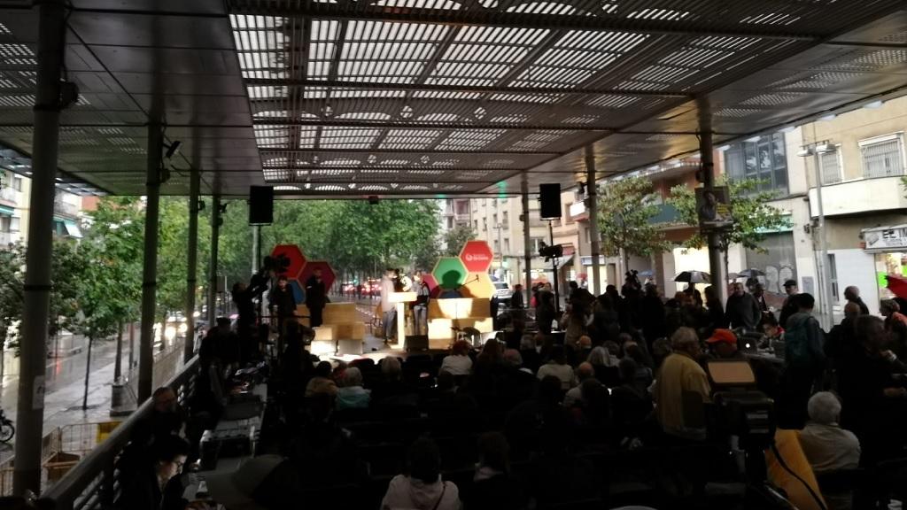 Acte final de campanya de Barcelona en Comú