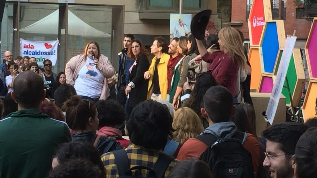 Acte de Barcelona en Comú sobre LGTBI