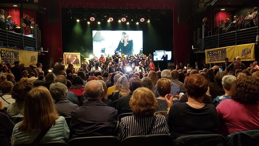 Acte final de campanya de Junts per Catalunya