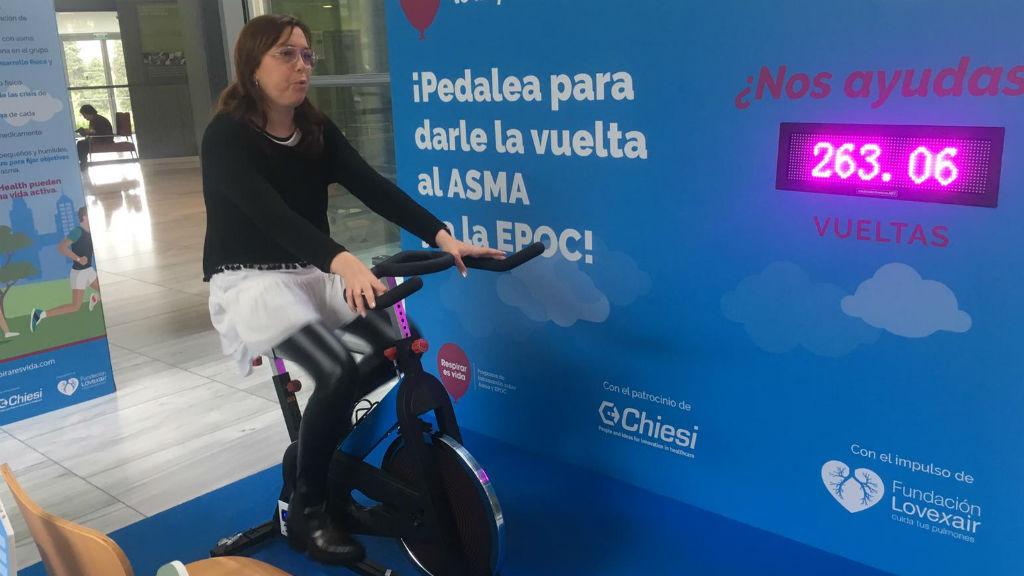 asma pedalejada Hospital de Sant Pau