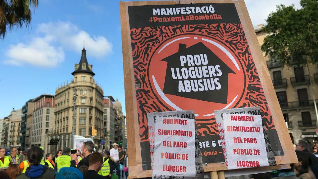 Manifestació de Barcelona no està en venda