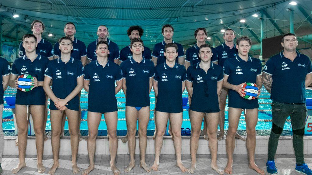 Equip de waterpolo de l'AN Brescia