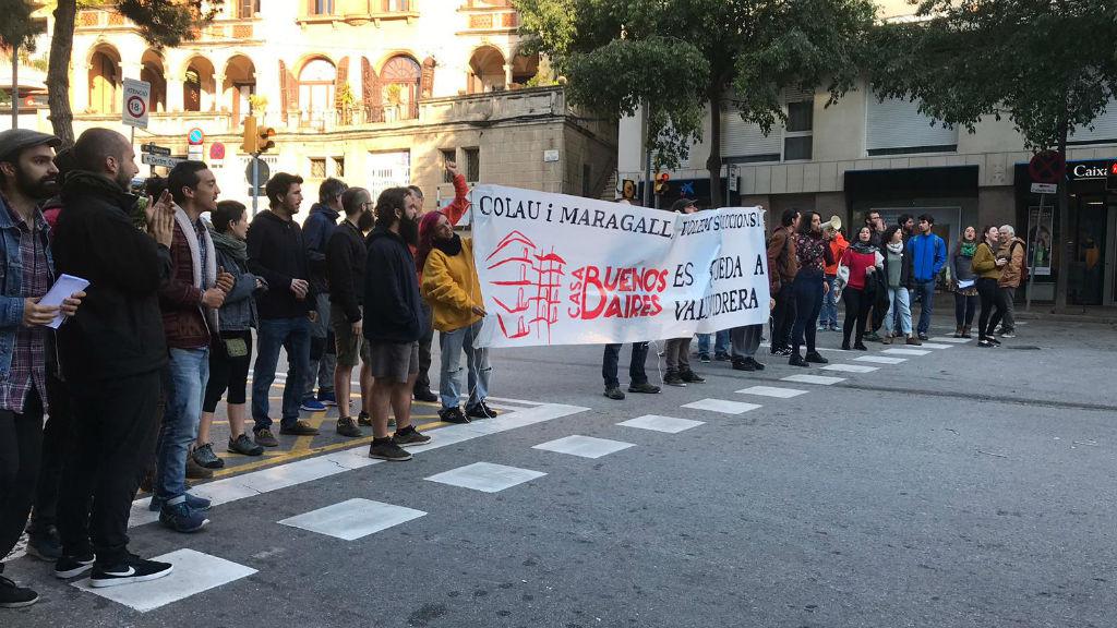 Protesta hotel Buenos Aires