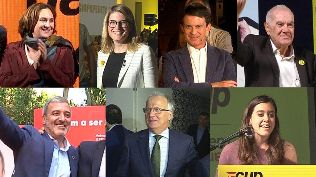 candidats barcelona eleccions municipals 2019