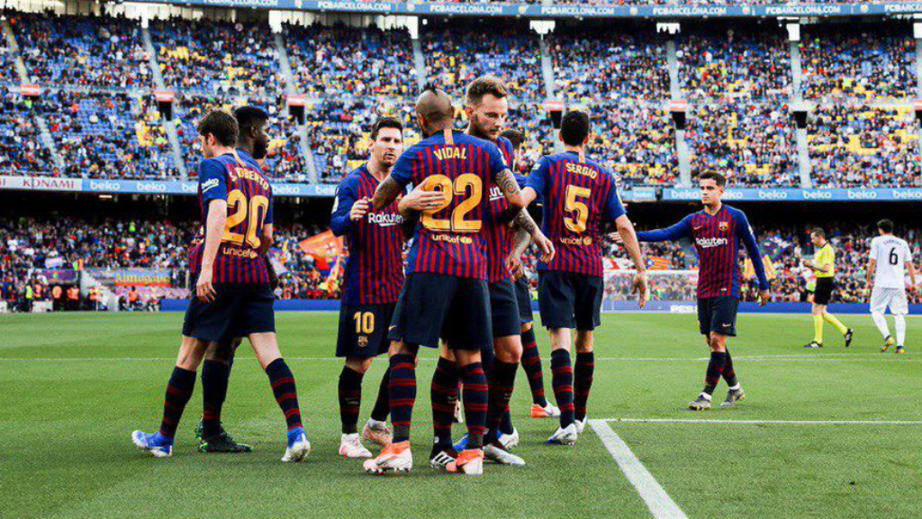 El Barça guanya el Getafe per dos gols a zero