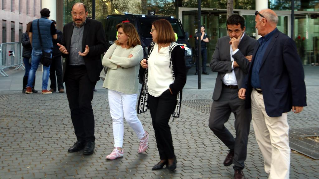 Vicent Sanchis, Núria Llorach i Martí Patxot