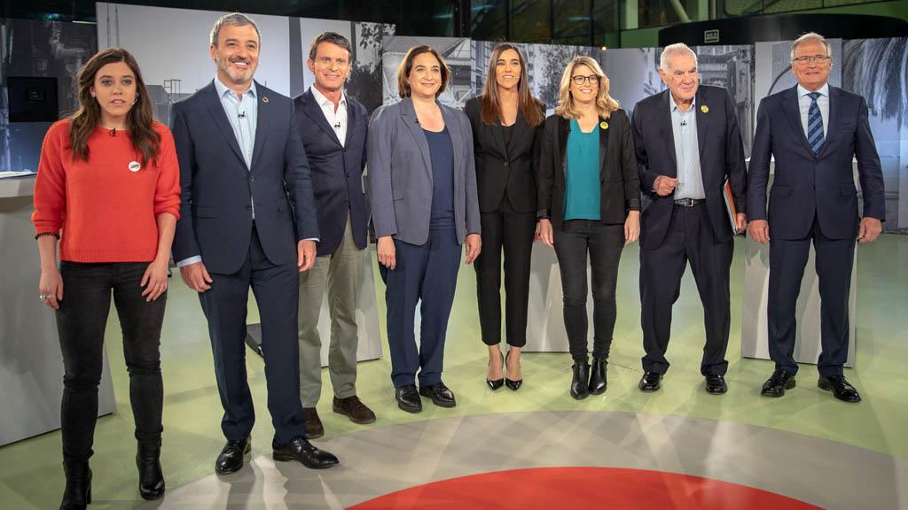 debat eleccions municipals 2019 barcelona