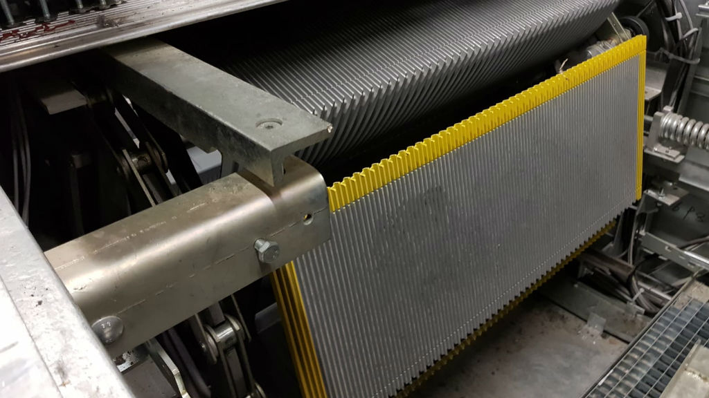 escales mecàniques en obres