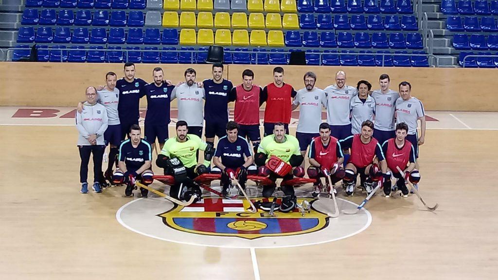 Final Four d'hoquei patins Lisboa Barça