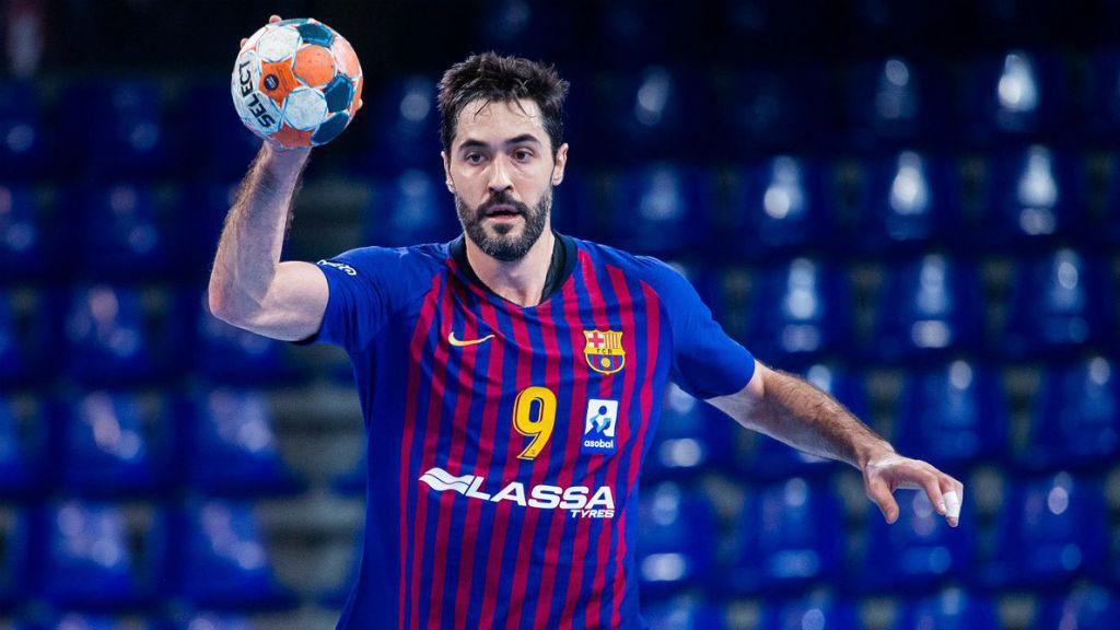 Final Four handbol 2019 Barça Vardar Raúl Entrerríos
