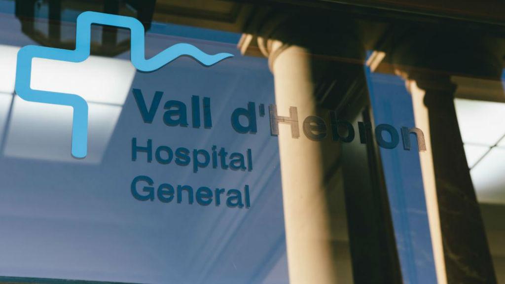Cartell Hospital Vall d'Hebron