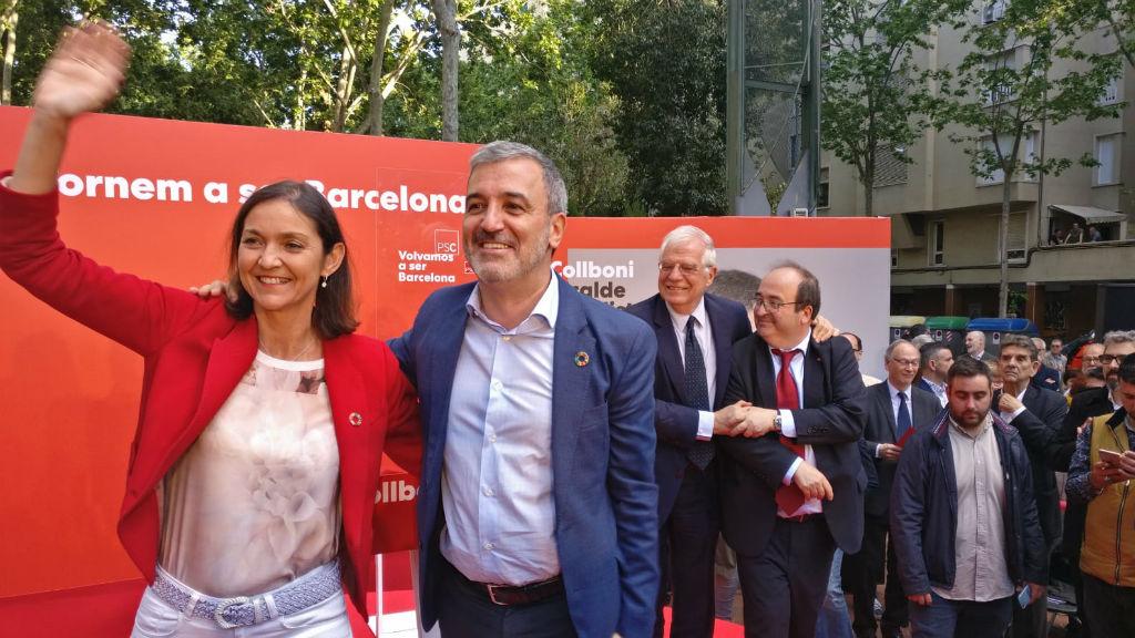 Jaume Collboni inici campanya municipals 2019